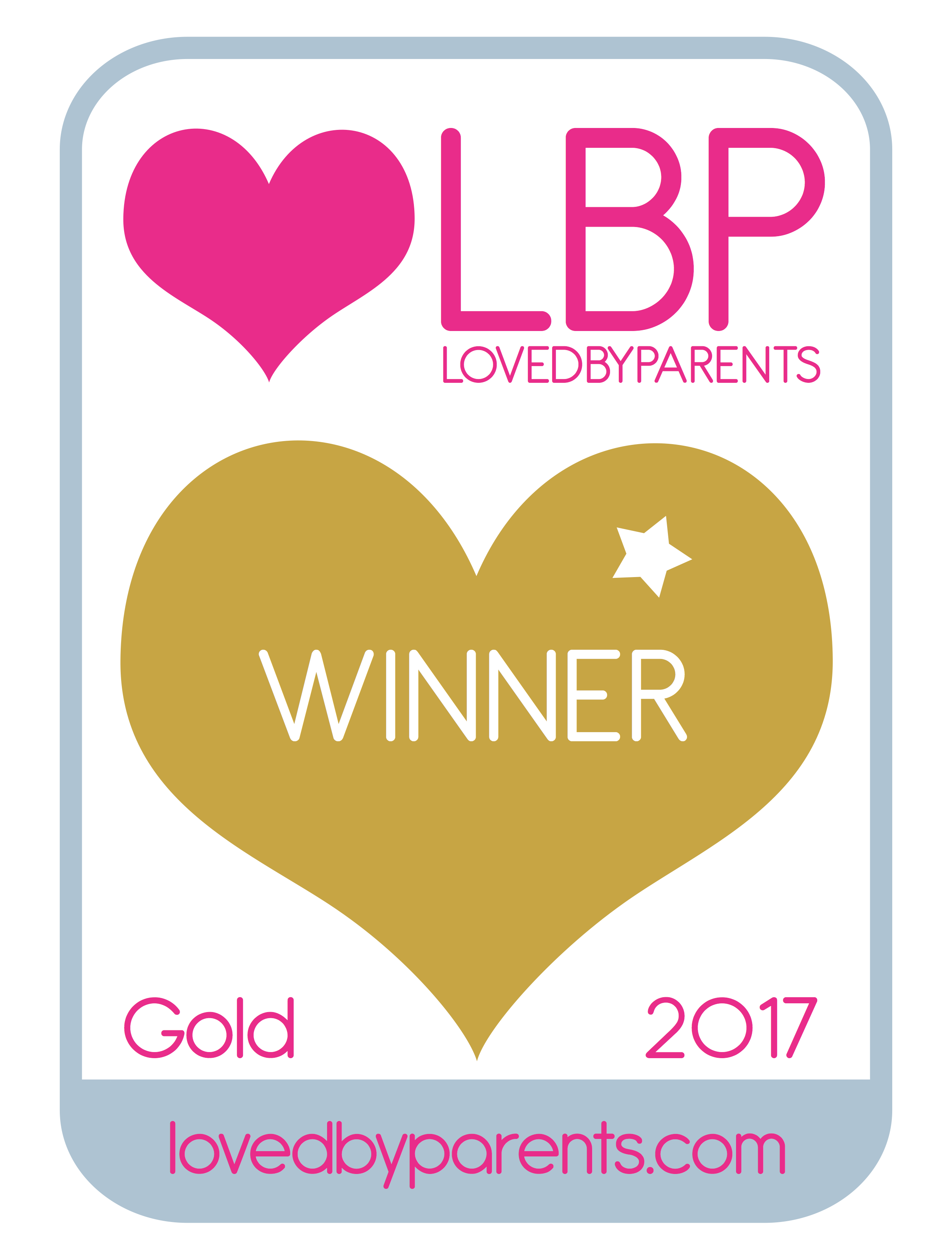 Loved by Parents Gold 2017