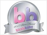 Bizzie Baby Silver Award logo 2017