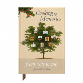 Cooking Up Memories journal by from you to me