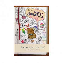Dear Great-Grandma tell me memory journal by from you to me