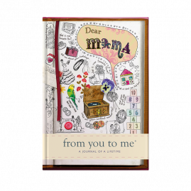 guided memory journal for Dear Mama (sketch) for Grandmother by from you to me