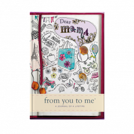 guided memory journal for Dear Mama (sketch) for Mothers by from you to me