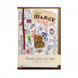 Dear Mamgu (sketch) for grandmothers hardback guided memory journal