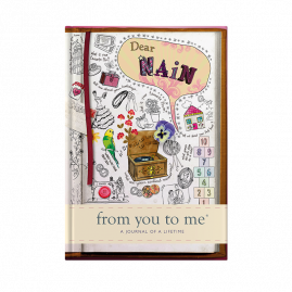 guided memory journal for Dear Nain (sketch) for Grandmother by from you to me