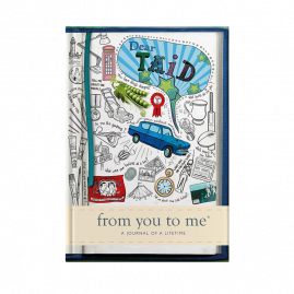 guided memory journal for Taid sketch by from you to me