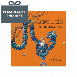 Personalised Unusual Pets Children's book