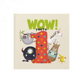 WOW! You're One ...a first birthday book that can be sent as a card