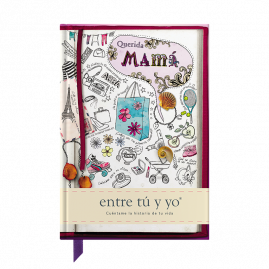 Querida Mamá Spanish hardback guided memory journal