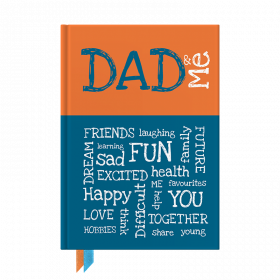 Dad and Me interactive journal