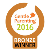 Gentle Parenting Bronze award