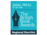 British Book Awards Regional Shortlist Small Press 2020 Logo